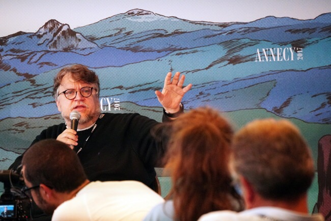 """""""No hay que hacer lo que quieren sino lo que quieres"""": Del Toro en #annecyfestival"""