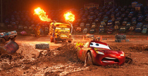 'Cars 3' destrona a 'Wonder Woman'