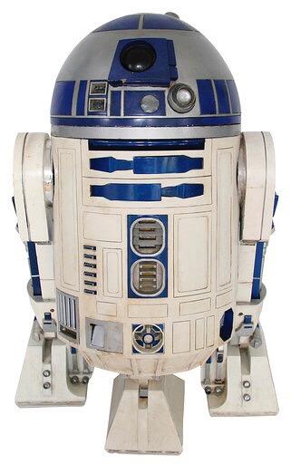 R2-D2 usado en Star Wars se vende en 2.76 mdd