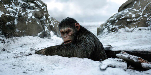 """Una épica fascinante """"War for the Planet of the Apes"""""""