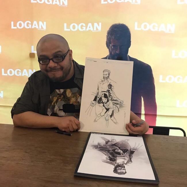"""¿Qué dibujante trabaja para títulos como 'X-Men', Marvel Universe"""" y 'Deadpool'? Aquí te lo presentamos…"""