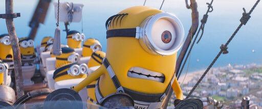 """""""Despicable Me 3"""" encabeza taquillas en EEUU y Canadá"""