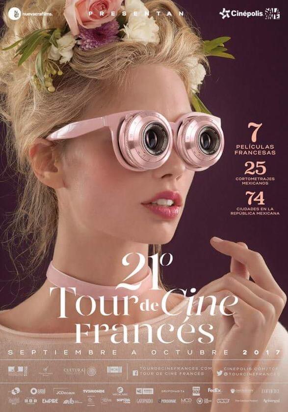 21 Tour de Cine Francés recorrerá 74 ciudades del país a partir del 8 de septiembre