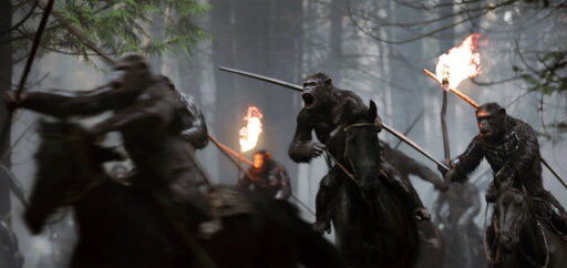 "Debuta ""War for the Planet of the Apes"" y encabeza taquilla"