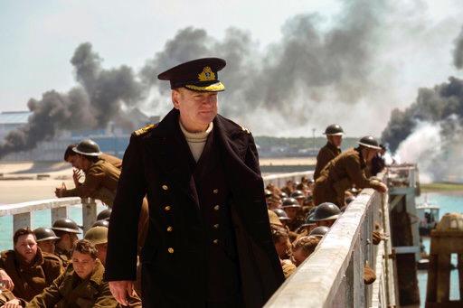 """""""Dunkirk"""" sigue al tope de las taquillas"""