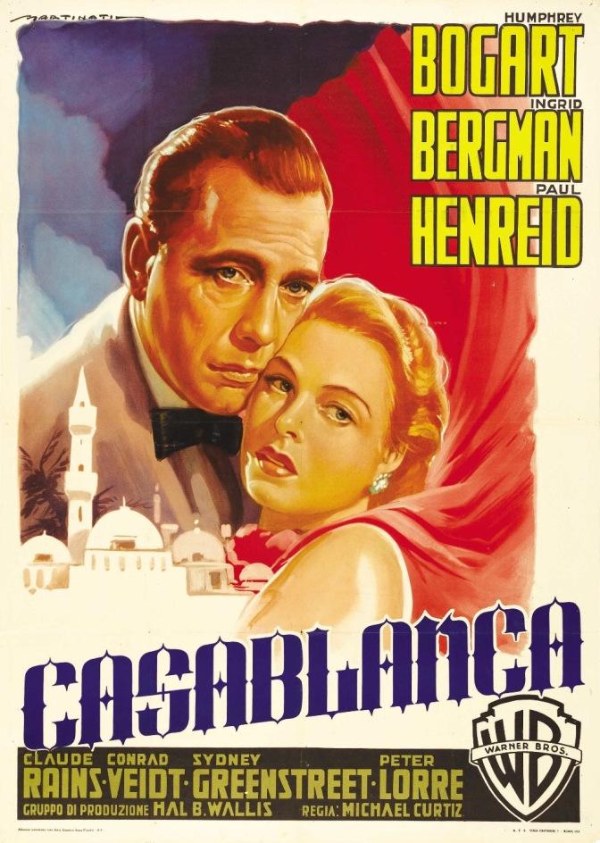 "Venden póster de cinta ""Casablanca"" en 478 mil dólares"