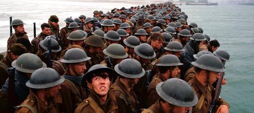 La historia de Dunkerque: dos filmes y 14 nominaciones al Óscar