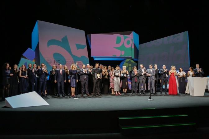 Los ganadores del palmarés de San Sebastián 2017