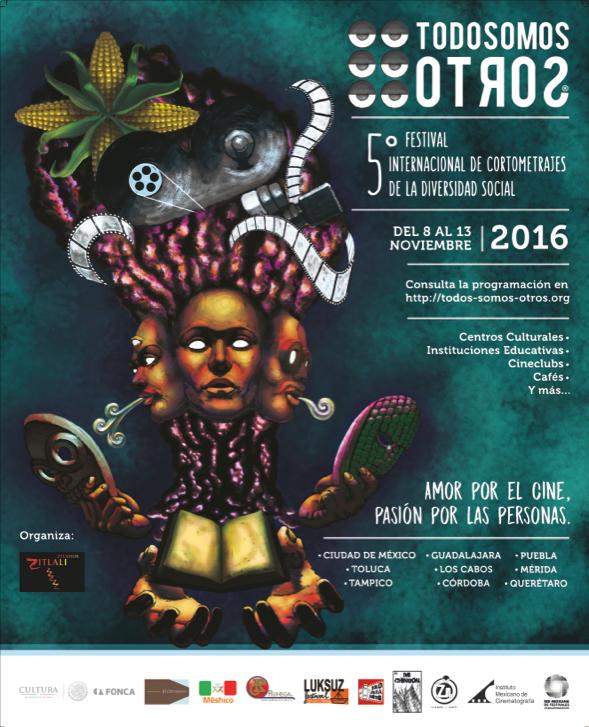 Festival de Cortos de Diversidad Social, listo para su sexta edición