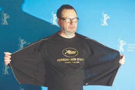 """Lars von Trier regresa a Cannes y el """"Don Quijote"""" de Gilliam cerrará la muestra"""