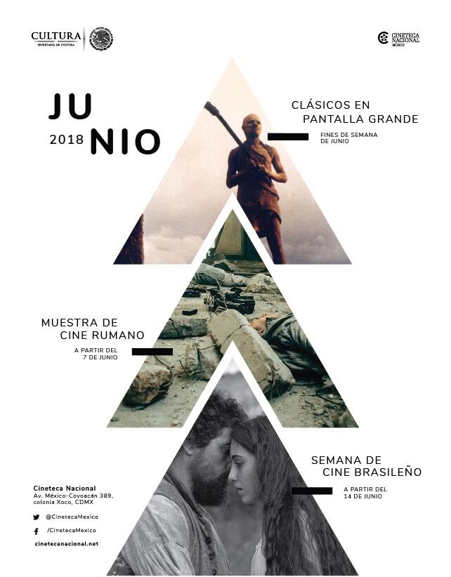 Junio trae cine rumano y brasileño a la Cineteca Nacional