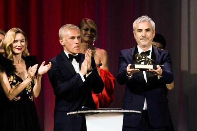 """El mexicano Cuarón gana el León de Oro de Venecia con """"Roma"""""""