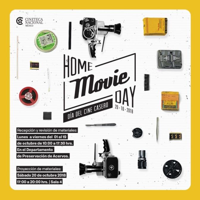 Cineteca Nacional celebra el Día Internacional de Cine Casero 2018