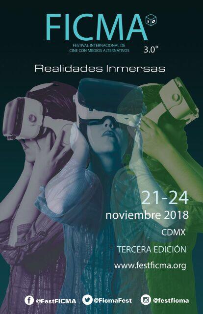 FICMA 2018 Realidades Inmersas Tercera Edición